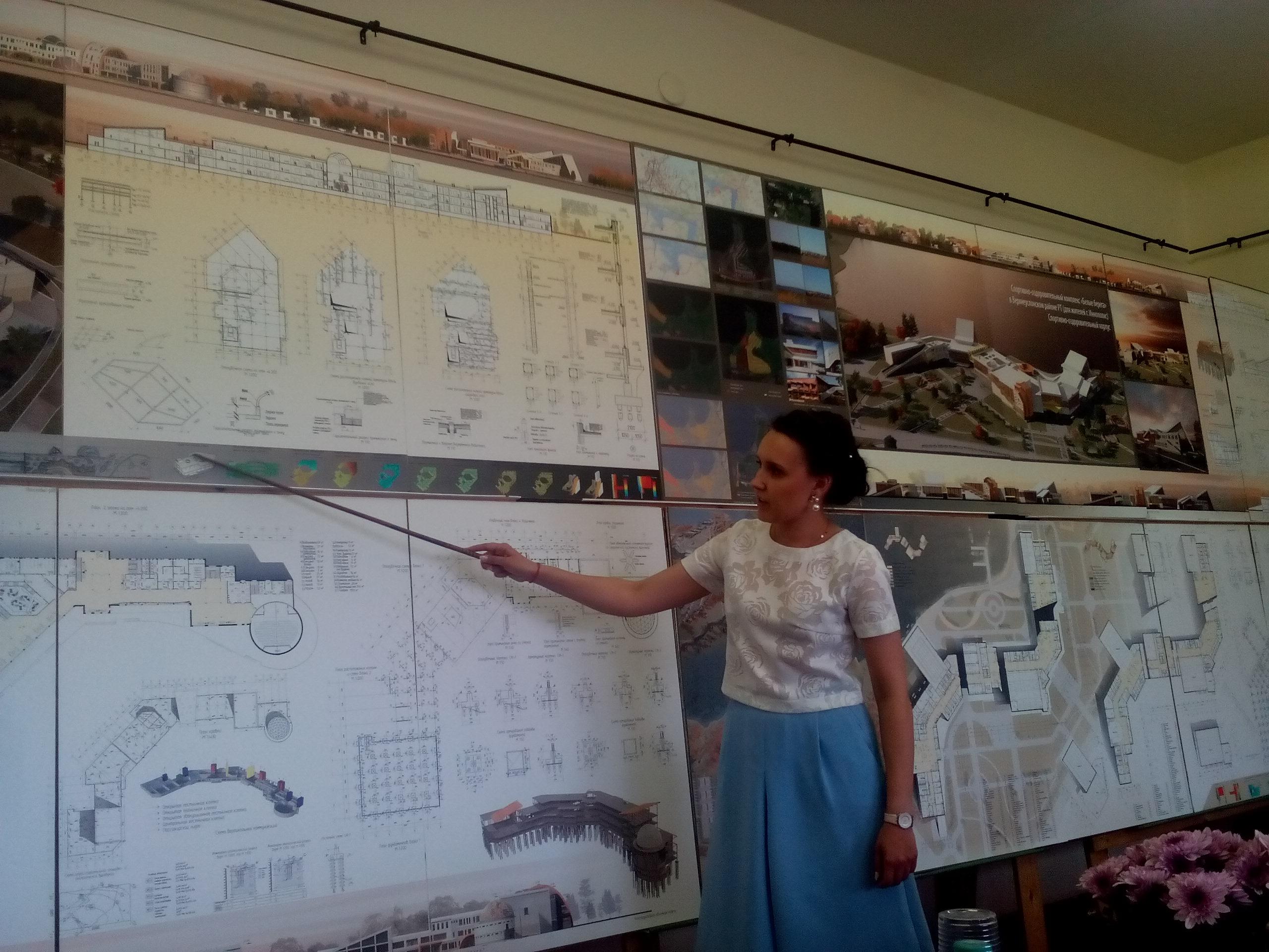 ИАиД КГАСУ завершились защиты дипломных работ бакалавров по  В ИАиД КГАСУ завершились защиты дипломных работ бакалавров по профилю Проектирование зданий были представлены объекты